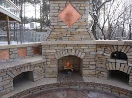 Outdoor Fireplaces Pictures tips for using your outdoor fireplace in the winter months