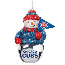 chicago cubs ornament set the danbury mint