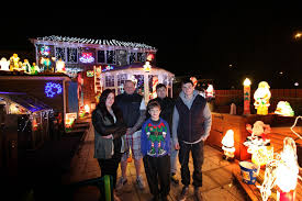 Families Hope To Raise Thousands With Christmas Lights Display