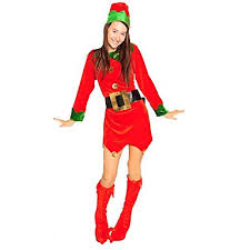 Elf Pants Christmas Dress Womens Christmas Festival  Holiday