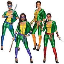 Halloween Costume Ninja Teenage Mutant Ninja Turtle Costume Female Superhero