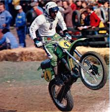 motocross beer goggles 1979 brad lackey flying his kawasaki wc500 in sittendorf austria