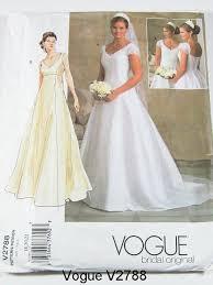 vogue wedding dress patterns vogue wedding dress patterns vogue wedding dress pattern v2788