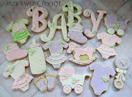 baby shower cookies ali s sweet tooth baby shower cookies pink lavender cookie