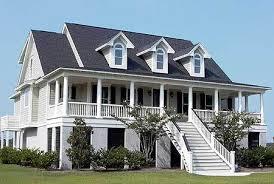 elevated home designs modest ideas raised house plans beachfront california style coastal