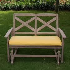 bench crestwood seymour 4 glider bench ctwo wonderful glider