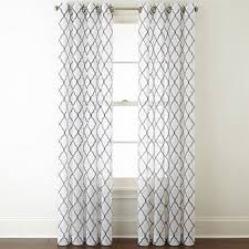 Sheer Coral Curtains Sheer Curtain Panels Curtains Drapes For Window Jcpenney