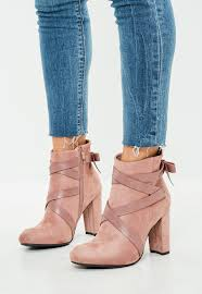womens flat ankle boots nz s boots faux leather and suede boots missguided