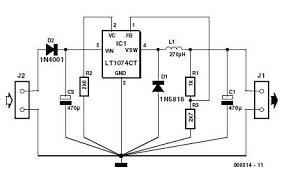 3 volts car adapter circuit