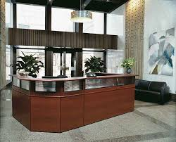 L Reception Desk by Home Design Traditional Reception Desk Architects Sprinklers The