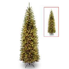 national tree company 7 ft powerconnect kingswood fir pencil tree