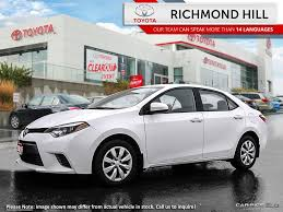 toyota compact richmond hill toyota inventory