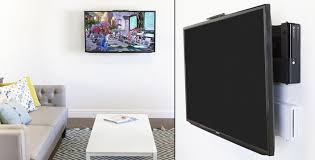 Where To Put Tv Hanging Tv On Wall Where To Put Cable Box