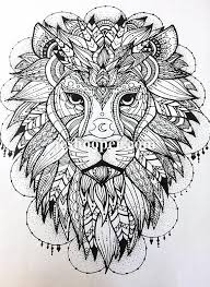 coloring page lion colouring page lion pattern coloring page instant digital