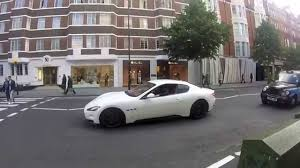 maserati london maserati granturismo in london acceleration revs sound youtube