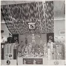 vintage black and white halloween images halloween retail store displays from 1969 vintage everyday
