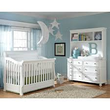 White Crib And Changing Table Combo Nursery Decors Furnitures Baby Cribs Changing Table Attached