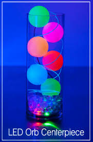 Light Up Balls On String by Lighted Orb Centerpiece From Glowsource Com Centerpiece Ideas