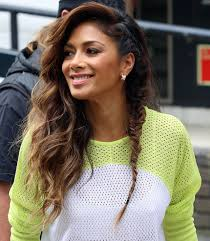 picture of nicole s hairstyle from days of our lives nicole scherzinger s cute fishtail braid glamour