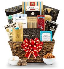 thank you baskets deluxe thank you gift basket