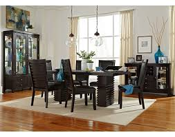 dining room table ls dining room set upholstered ashley used round town discontinued
