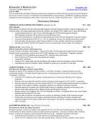 proper resume format 2017 occupational health occupational health and safety specialist sle resume shalomhouse us