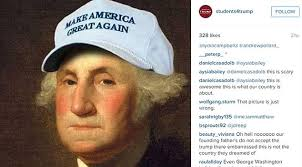 Top Gun Hat Meme - photo of martin luther king jr bust wearing a donald trump hat at