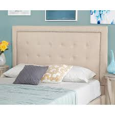 Queen Headboard Upholstered by Simple Living Cortina Upholstered Queen Headboard Free Shipping
