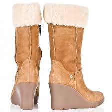 s wedge boots s ugg australia emilie boots mount mercy