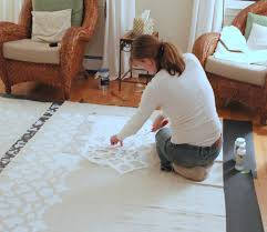 Diy Drop Cloth Curtains Stenciled Drop Cloth Curtain Tutorial Shine Your Light