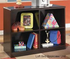 embrace loft bed with dresser u0026 bookcase bedroom furniture beds