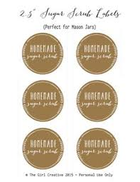 printable jar label sheets sugar scrub burlap and lace printable jar labels jar labels