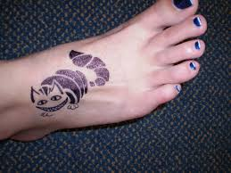 sharpie henna foot 2 by katamoria on deviantart