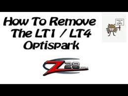 how to remove lt1 lt4 optispark opti distributor
