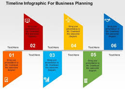 timeline infographic for business planning powerpoint template