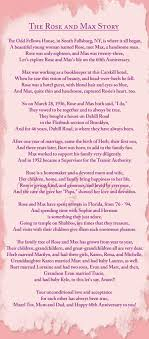 60th wedding anniversary poems 50th wedding anniversary poems home about personalized poems