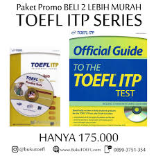 jual paket promo buku ets toefl itp series official guide
