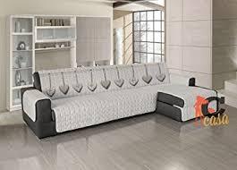 couvre canapé d angle capitan casa couvre canapé matelassé pour canapé d angle motif