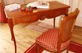 bureau merisier bureau louis xv en merisier meubles hummel