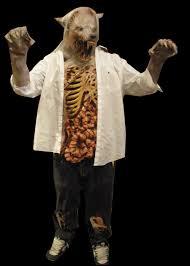 Werewolf Costume Halloween Masks Zombie Werewolf Costume