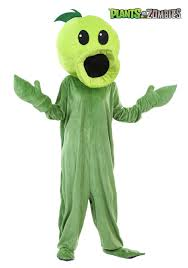 plants zombies peashooter costume adults