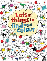 lots of things to find and colour u201d at usborne children u0027s books