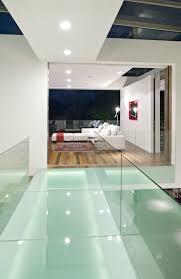 glassbridge over atrium foyer coolness design inspiration for a