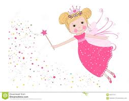 cute fairy tale with stars vector stock vector image 65251311
