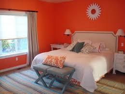 couleur de la chambre à coucher chambre à coucher couleur chambre coucher combinaisons mur orange