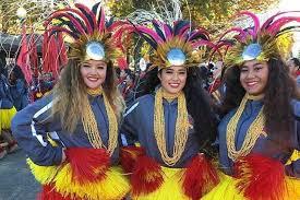 ks hula band join all state at macy s parade ka leo o