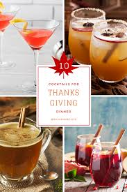 cocktails to get you through thanksgiving dinner