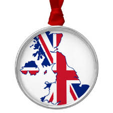 Blue Silver Christmas Decorations Uk by Flag Of England Christmas Tree Decorations U0026 Ornaments Zazzle Co Uk