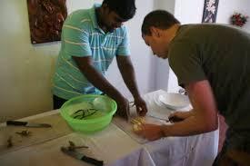 cours de cuisine bulle sri lanka jour 15 16 galle bulles de voyages