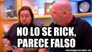 Meme Rick - meme personalizado no lo se rick parece falso 25171955